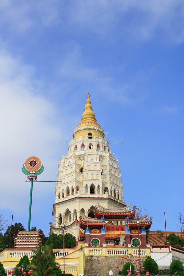 kinesisk georgetown pagoda arkivfoton