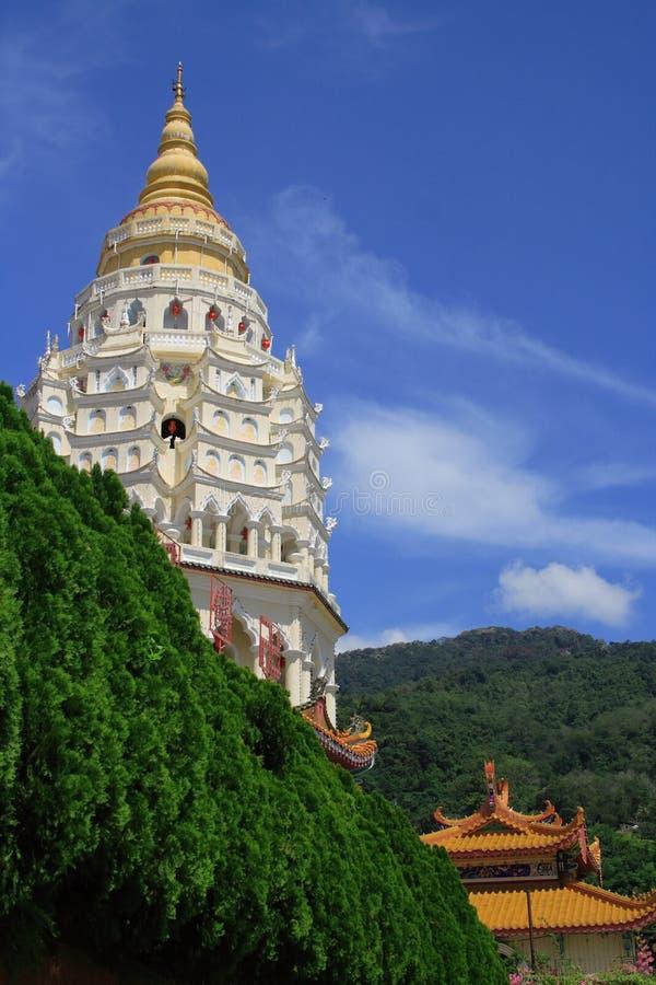 kinesisk georgetown pagoda royaltyfri foto