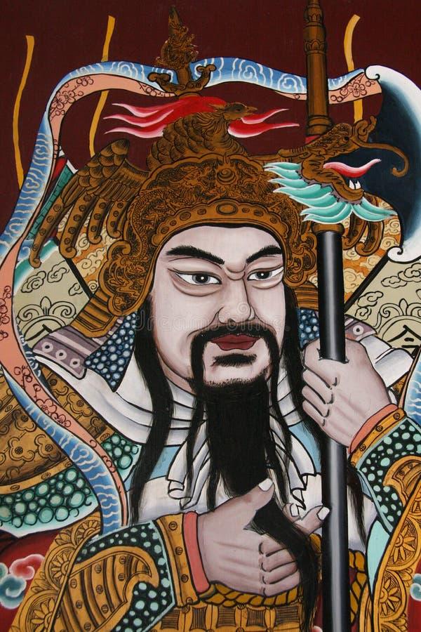 kinesisk gud arkivfoton
