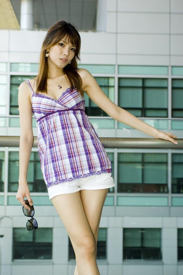 kinesisk gullig flicka arkivbilder
