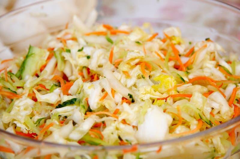 kinesisk kall maträtt arkivfoto