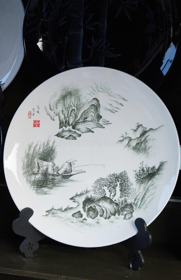 kinesisk keramik fotografering för bildbyråer