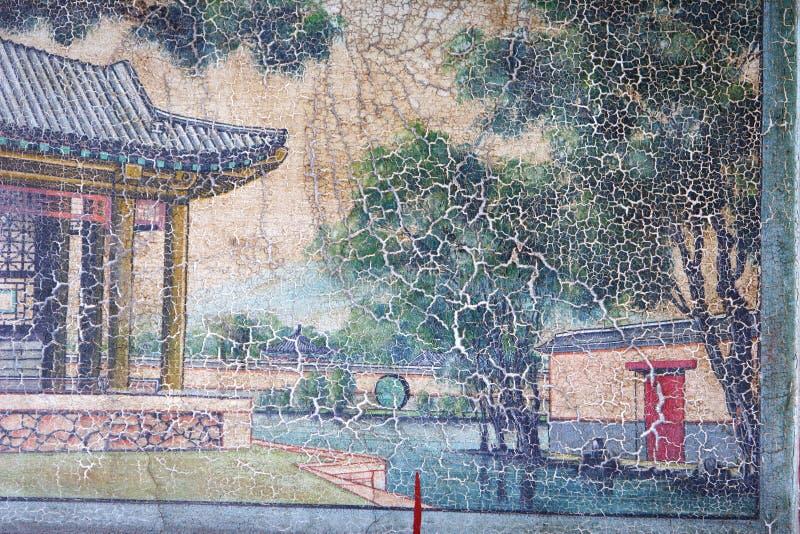 kinesisk klassisk målning royaltyfri illustrationer