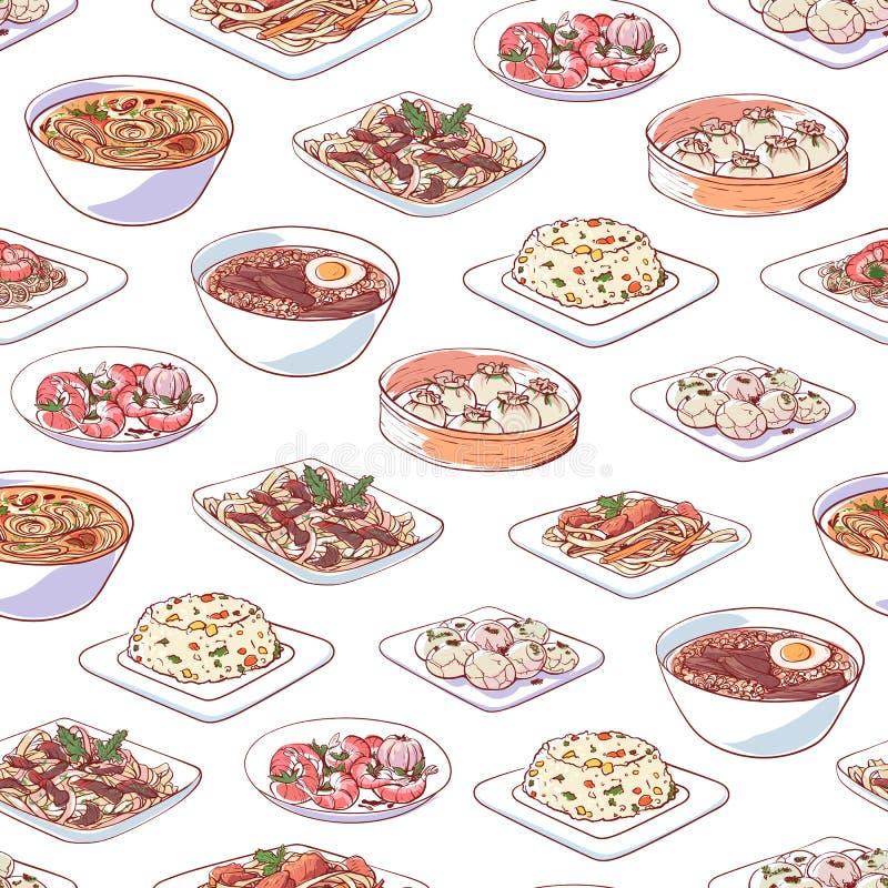 Kinesisk kokkonstdisk på vit bakgrund fotografering för bildbyråer