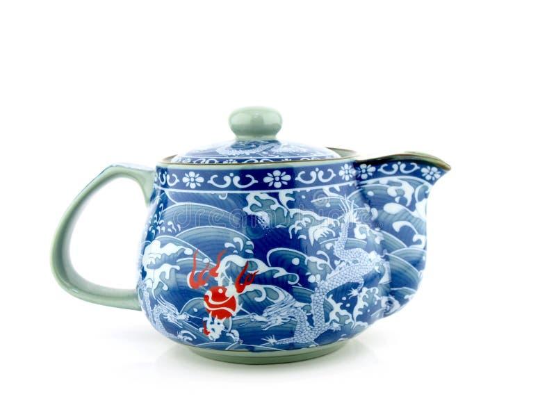 kinesisk krukatea royaltyfri foto