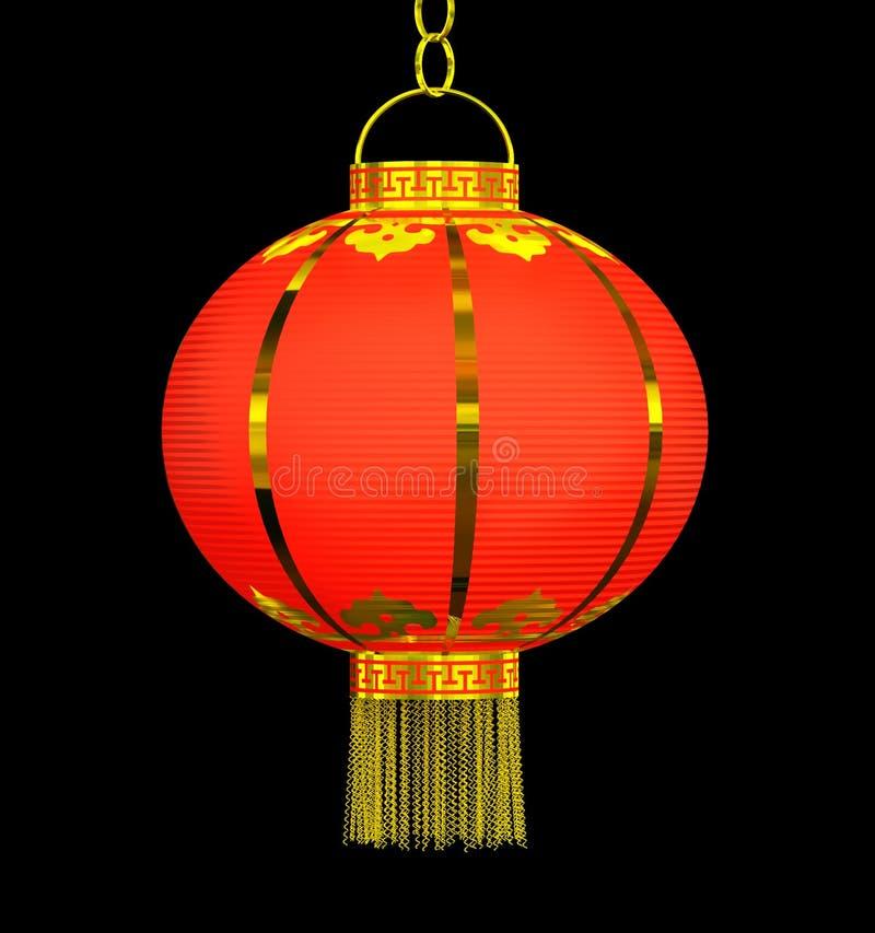 kinesisk lykta royaltyfri illustrationer