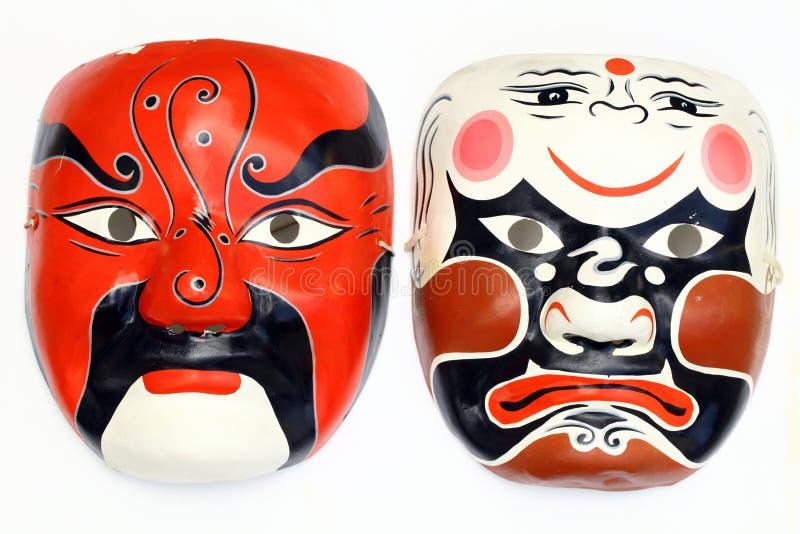 kinesisk maskering arkivbild
