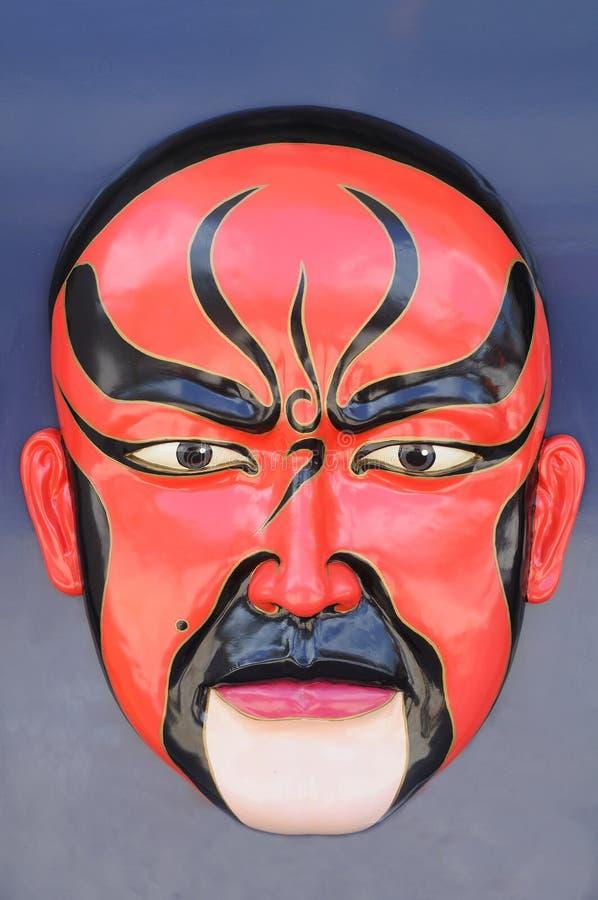 kinesisk maskeringsopera royaltyfria foton