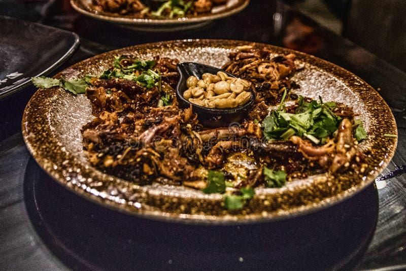 Kinesisk mat av Sichuan kokkonst royaltyfri foto