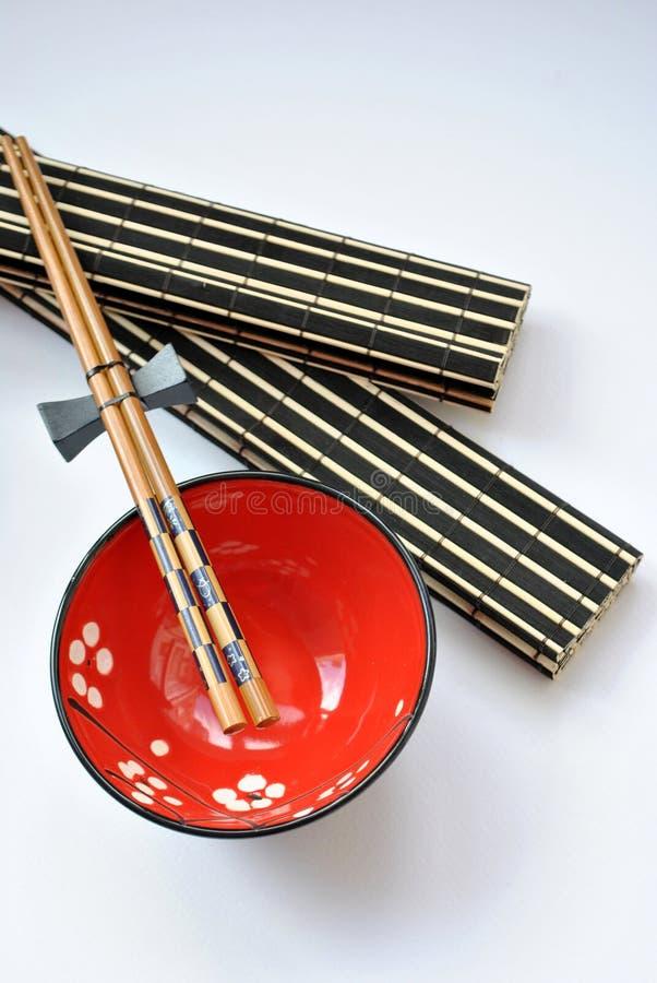 kinesisk maträtt royaltyfri foto