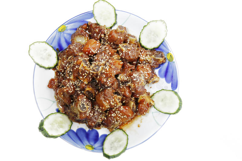 kinesisk matserie royaltyfri bild