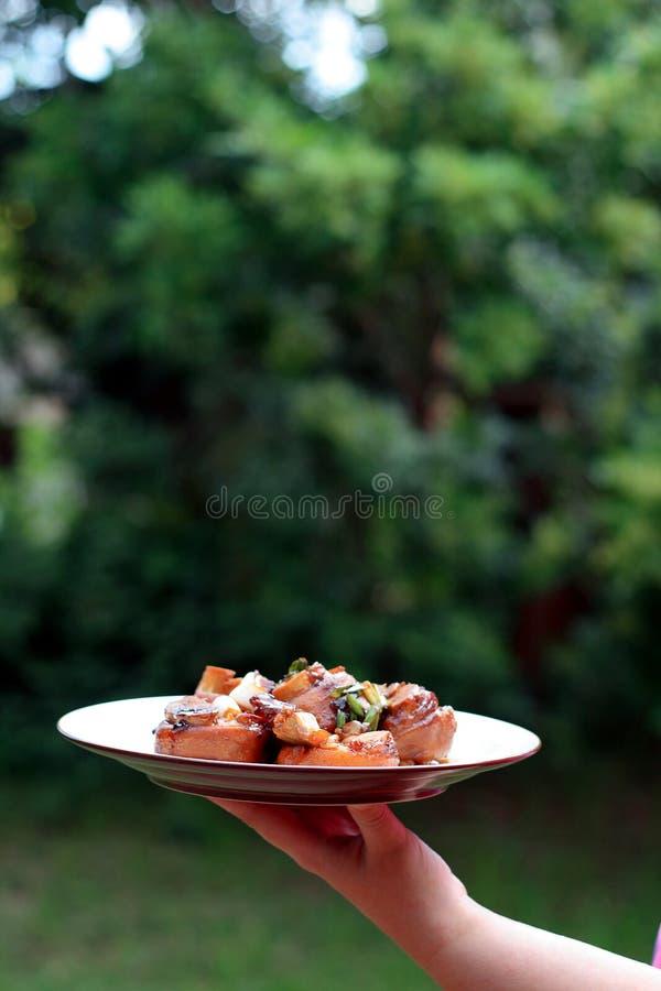 kinesisk matserving arkivfoto