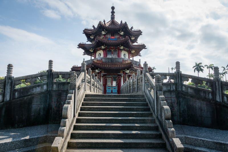 Kinesisk pagod för 228 Memorial Park arkivbild