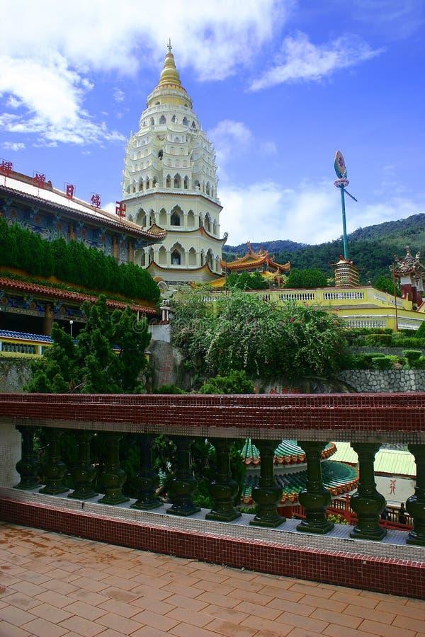 kinesisk pagoda arkivbilder