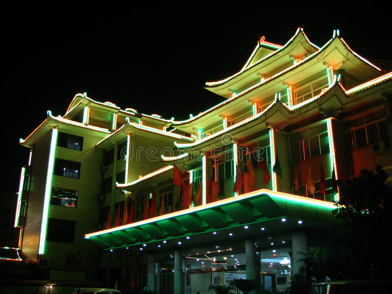 kinesisk pagoda arkivfoton