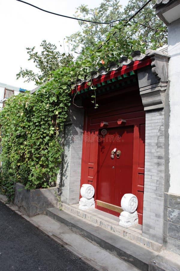 kinesisk port royaltyfria bilder