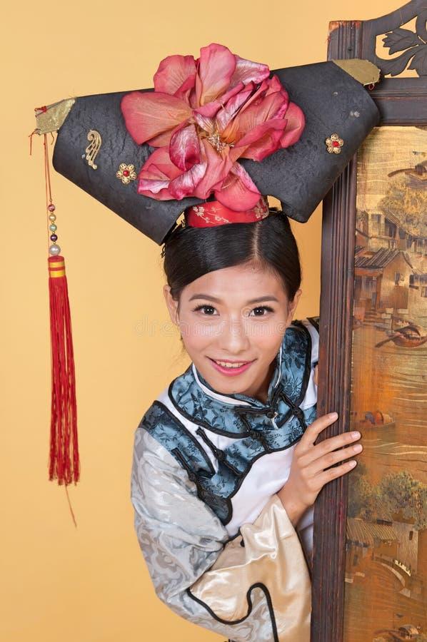 Download Kinesisk prinsessa fotografering för bildbyråer. Bild av plira - 78731431