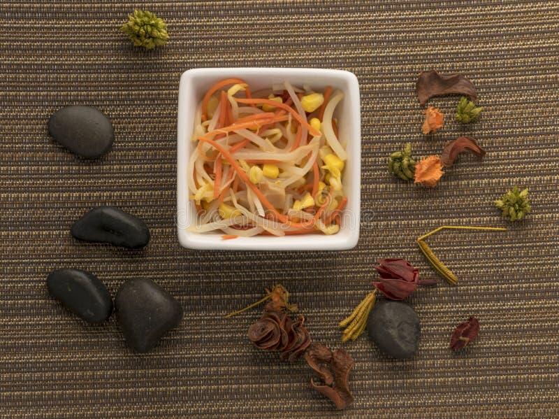 Kinesisk sallad arkivfoto