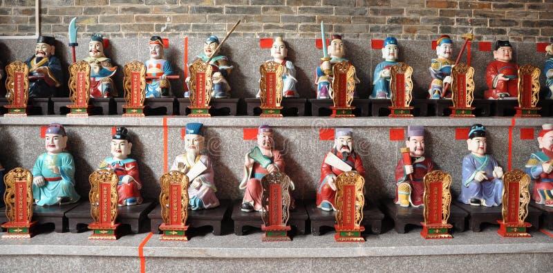 kinesisk skulpturtaoist royaltyfri bild
