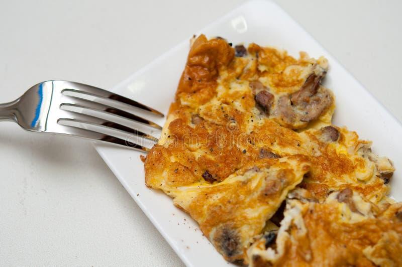kinesisk smaklig omelettstil arkivfoton