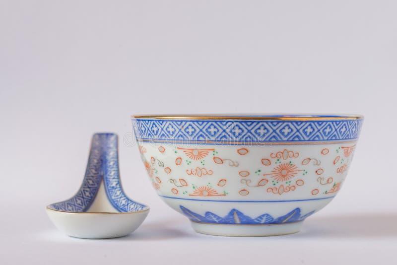 Kinesisk soppakopp royaltyfria foton