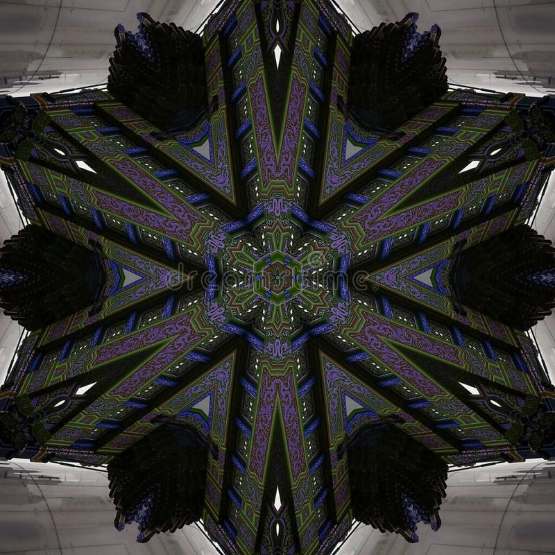 Kinesisk stjärna & x28; Purple& x29; arkivfoton