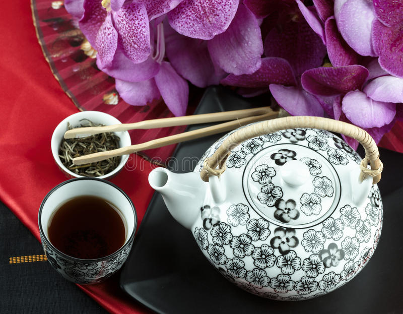 kinesisk tea royaltyfri foto