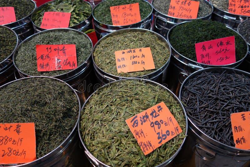 Kinesisk tea royaltyfria bilder