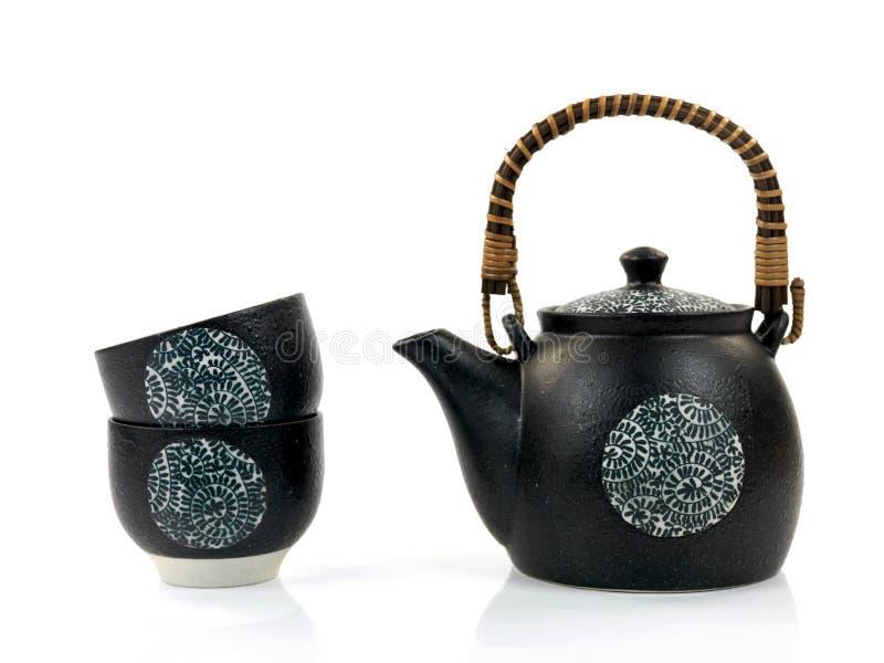 kinesisk teapot arkivbild