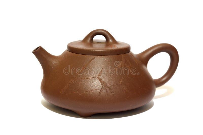 kinesisk teapot fotografering för bildbyråer