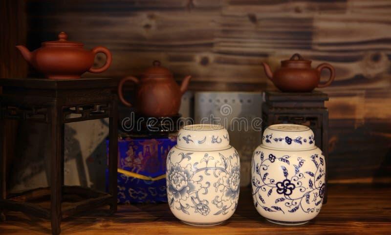 kinesisk tearoom fotografering för bildbyråer