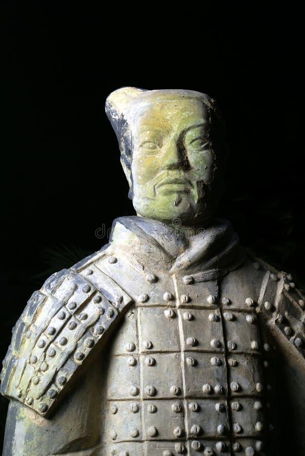 kinesisk terrakottakrigare fotografering för bildbyråer