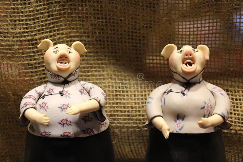 Kinesisk traditionell docka arkivbilder