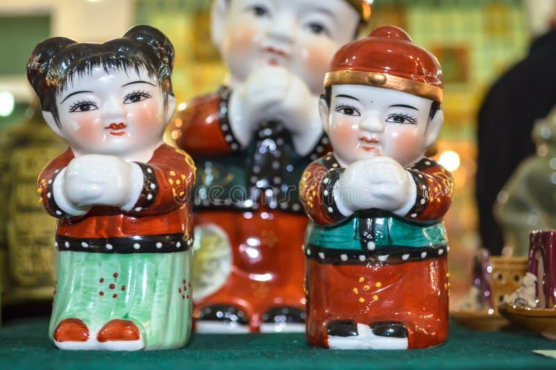 Kinesisk traditionell nationell leksaker royaltyfria foton