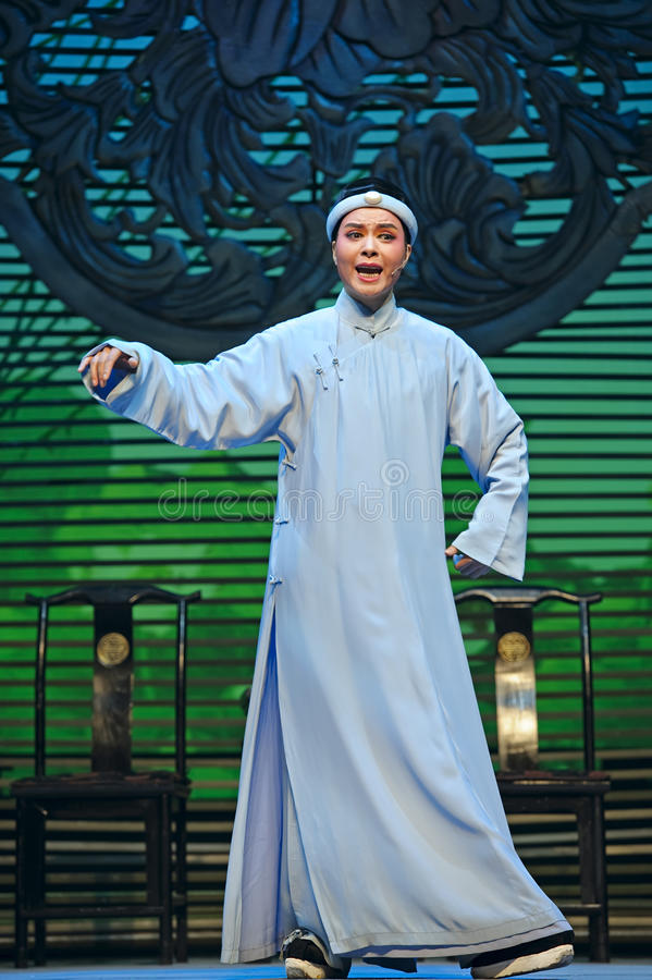 Kinesisk traditionell operaaktris royaltyfri foto