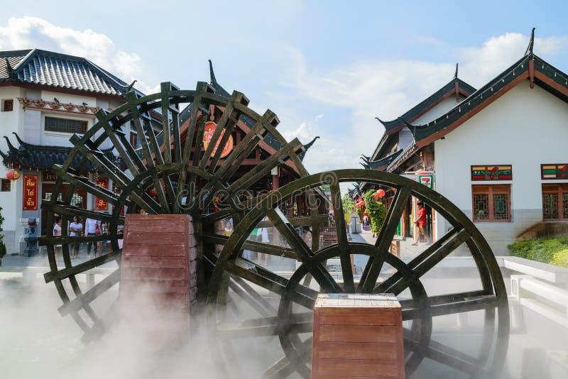 Kinesisk turbin royaltyfri bild