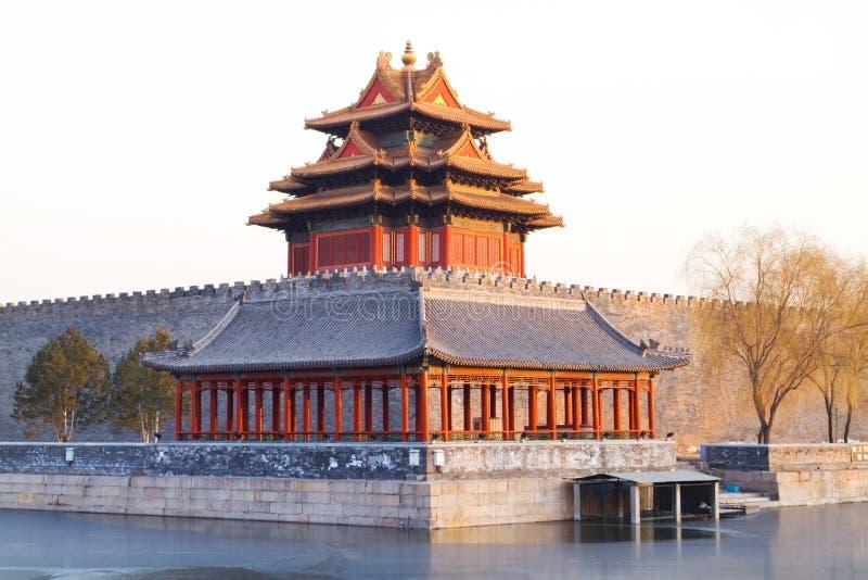 kinesisk turret royaltyfri foto