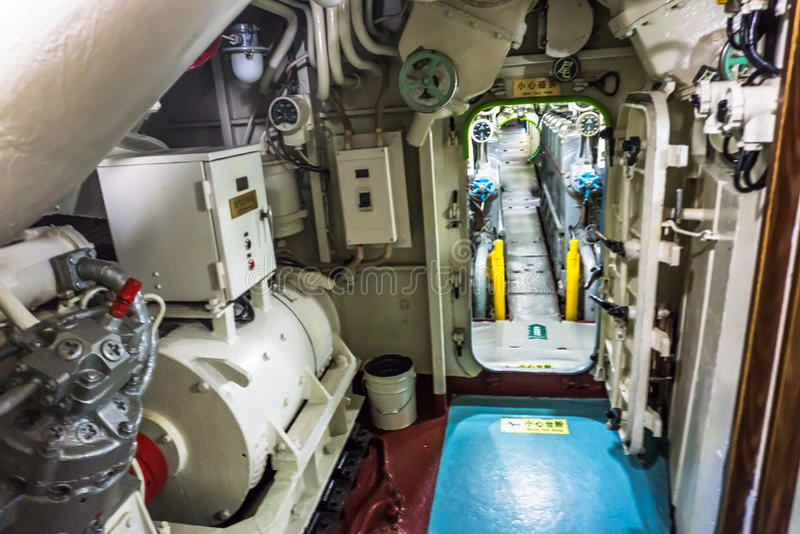 Kinesisk ubåt royaltyfria foton