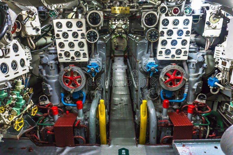 Kinesisk ubåt royaltyfria bilder