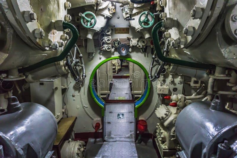 Kinesisk ubåt royaltyfri fotografi