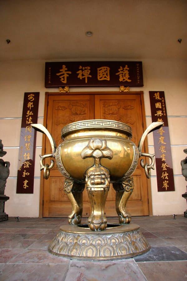 kinesisk urn arkivfoton