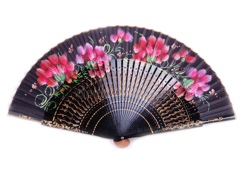 kinesisk ventilator royaltyfri fotografi