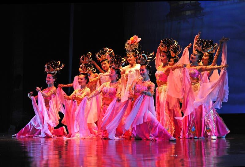 kinesiska dansare royaltyfri bild