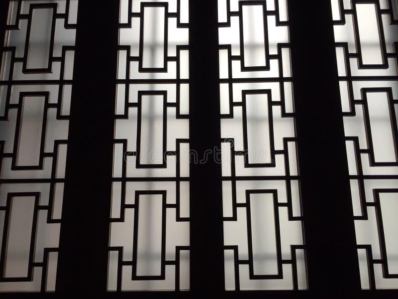 kinesiska fönster royaltyfri foto