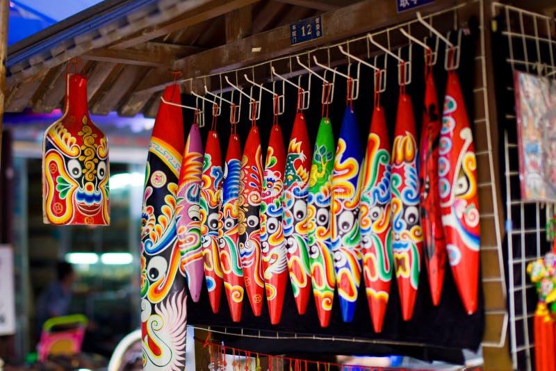 Kinesiska Folk Handcraft royaltyfria foton
