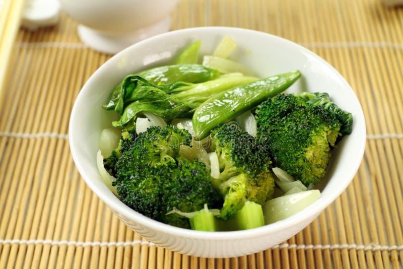 kinesiska grönsaker fotografering för bildbyråer