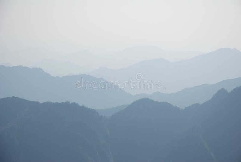 kinesiska huangshan royaltyfri fotografi