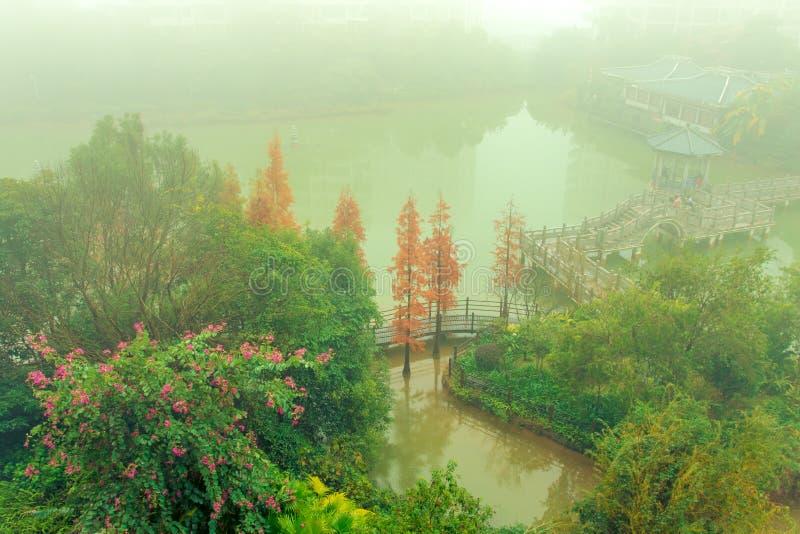 kinesiska klassiska trädgårdar royaltyfri foto