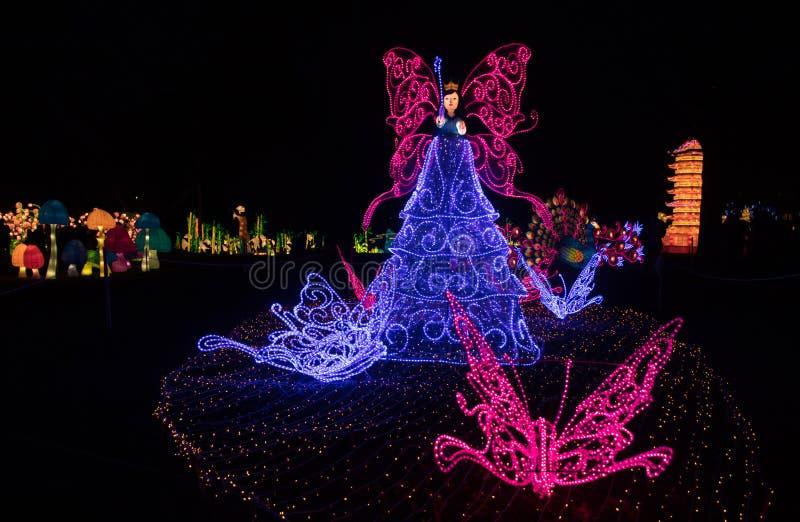 Kinesiska nya år lyktor arkivfoton