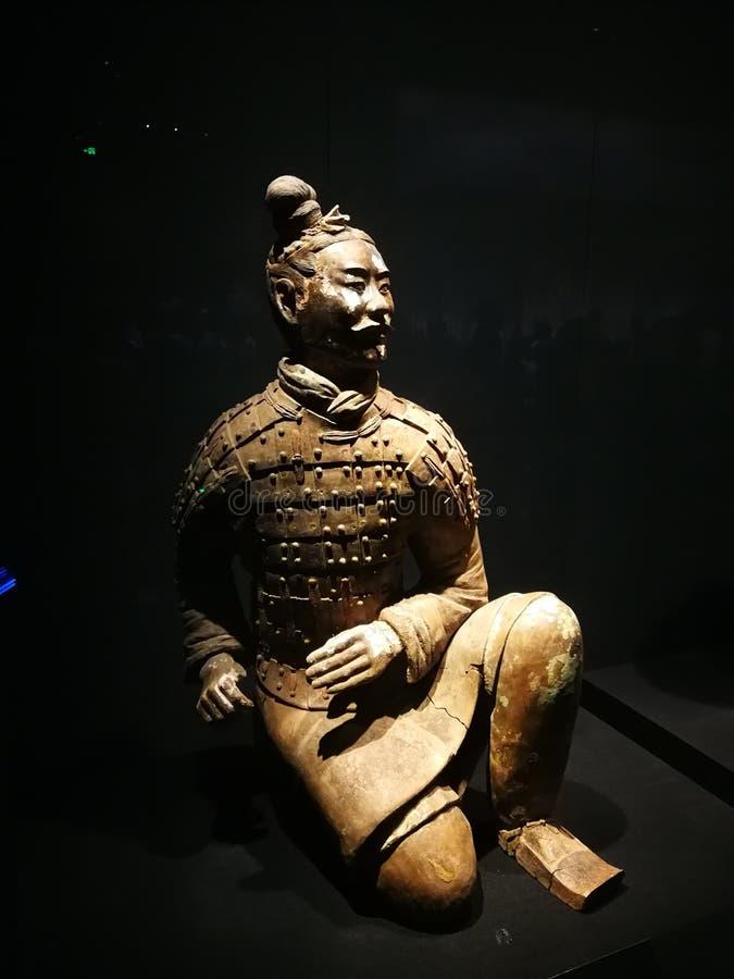 kinesiska terrakottakrigare E arkivbilder
